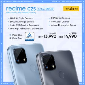 Realme C25 bd