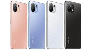 Xiaomi 11 Lite 5G NE color