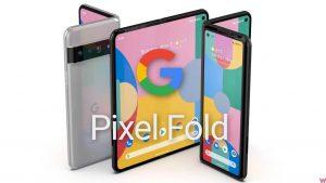 Google pixel fold leak